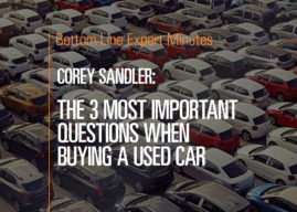 The 3 Most Important Questions When Buying a Used Car