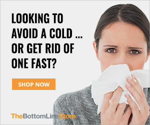 shop cold and flu at the bottom line store