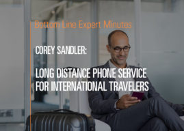 Long Distance Phone Service for International Travelers