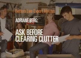 Ask Before Clearing Clutter