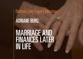 Marriage and Finances Later in Life