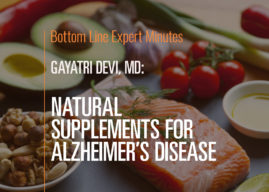 Natural Supplements for Alzheimer's Disease