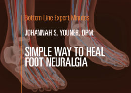 Simple Way to Heal Foot Neuralgia