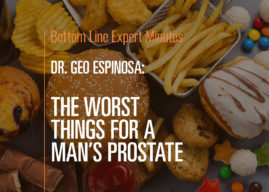 The Worst Things for a Man's Prostate