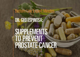 Supplements to Prevent Prostate Cancer