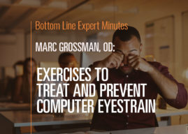Exercises to Treat and Prevent Computer Eyestrain