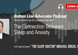 """The Sleep Doctor"" Michael Breus on the Connection Between Sleep and Anxiety"