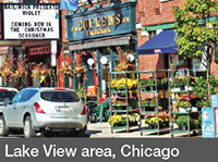 Lake View area, Chicago