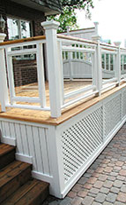 deck skirting and screen