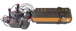 P 14 Atari-Model-CX-2600 Video Game Console-only