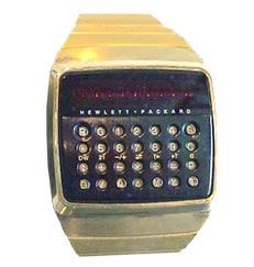 P 14 Hewlett Packard Digital Watch 1977-ret-silo