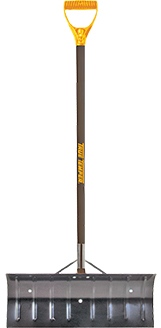 True Temper 24-inch Steel Snow Pusher
