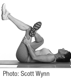 gluteal stretch