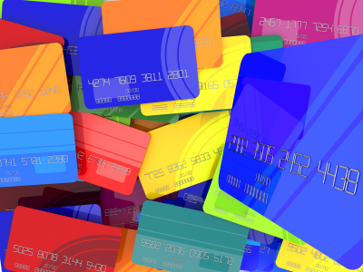 Abstract credit cards